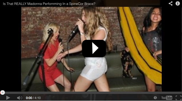 Is That Really Madonna Performing In SpineCor?