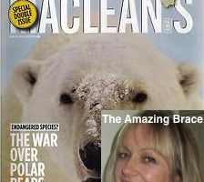 The Amazing Brace Article in MacClean's on SpineCor