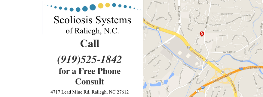 Raleigh Scoliosis Treatment Location
