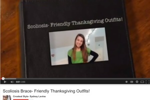 What To Wear For Thanksgiving When You Have Scoliosis