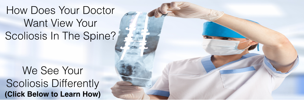 Scoliosis in the Spine Banner