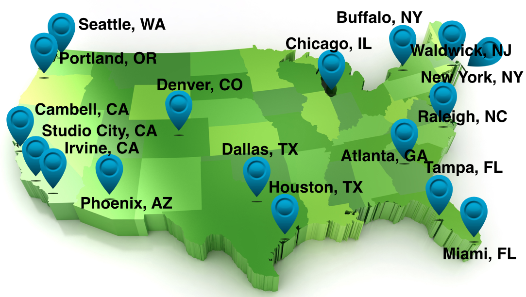 Scoliosis Systems 17 Office Locations in US