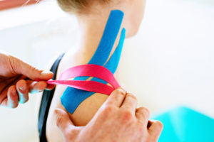 SpineCor Works on The Same Elastic Tension Principles as Kinesiotape